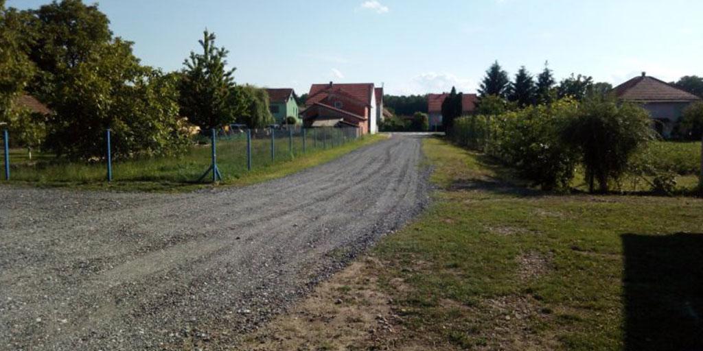 Zaštitarsko-ekološka udruga PRODE uredila prilasni put i parkiralište