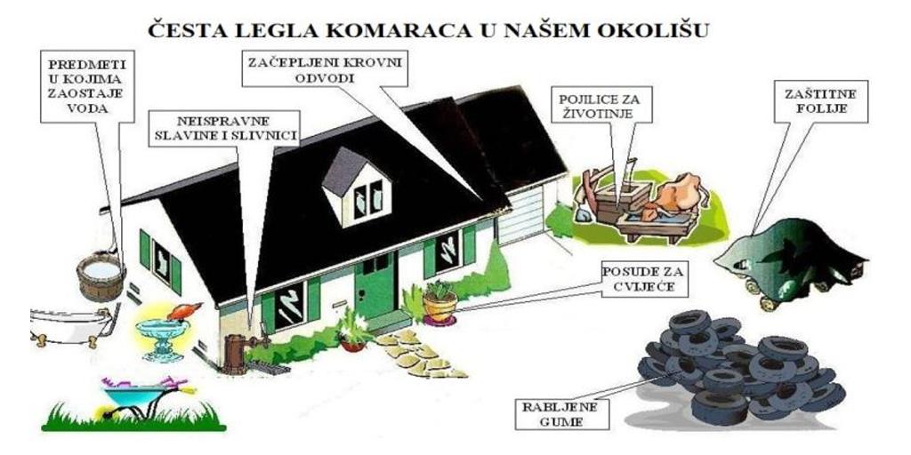 Komunalno redarstvo: Smanjimo količinu komaraca u našoj okolini