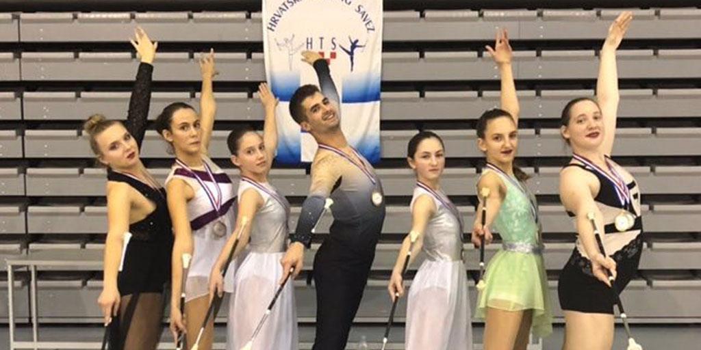 Uspješni na državnom prvenstvu u twirlingu u Koprivnici